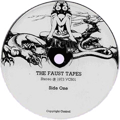 The Faust Tapes: Virgin Label