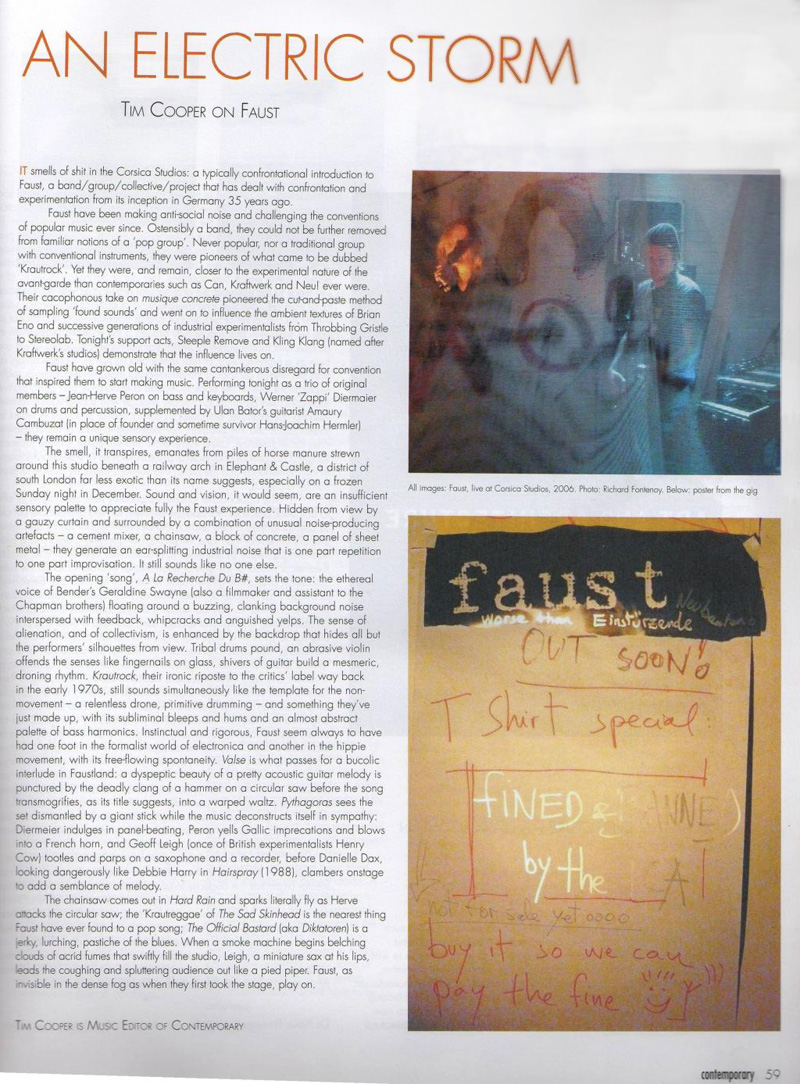 Review in Contemporary Magazine