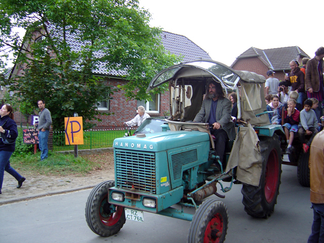 Jean-Hervé and Tractor