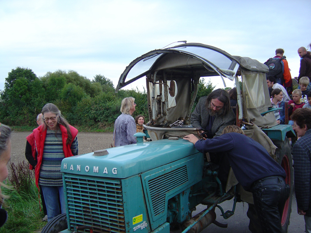 Turning the Tractor