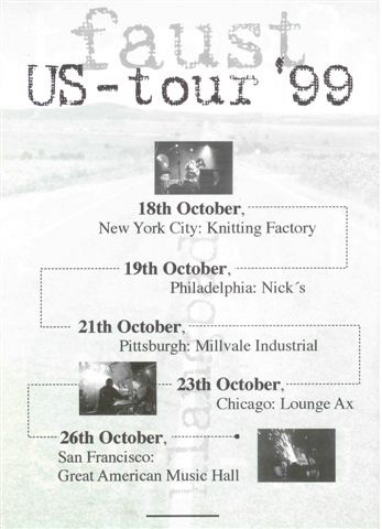 US Tour 1999 - back (image from Mike Ivins)