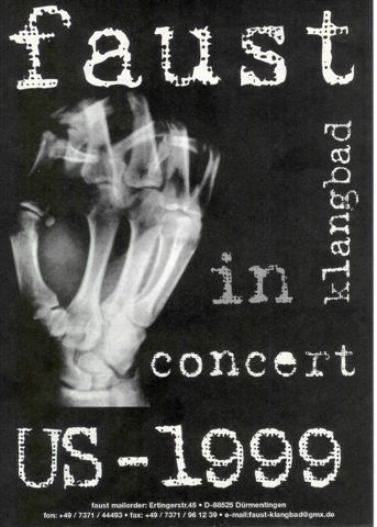 US Tour 1999 - front (image from Mike Ivins)